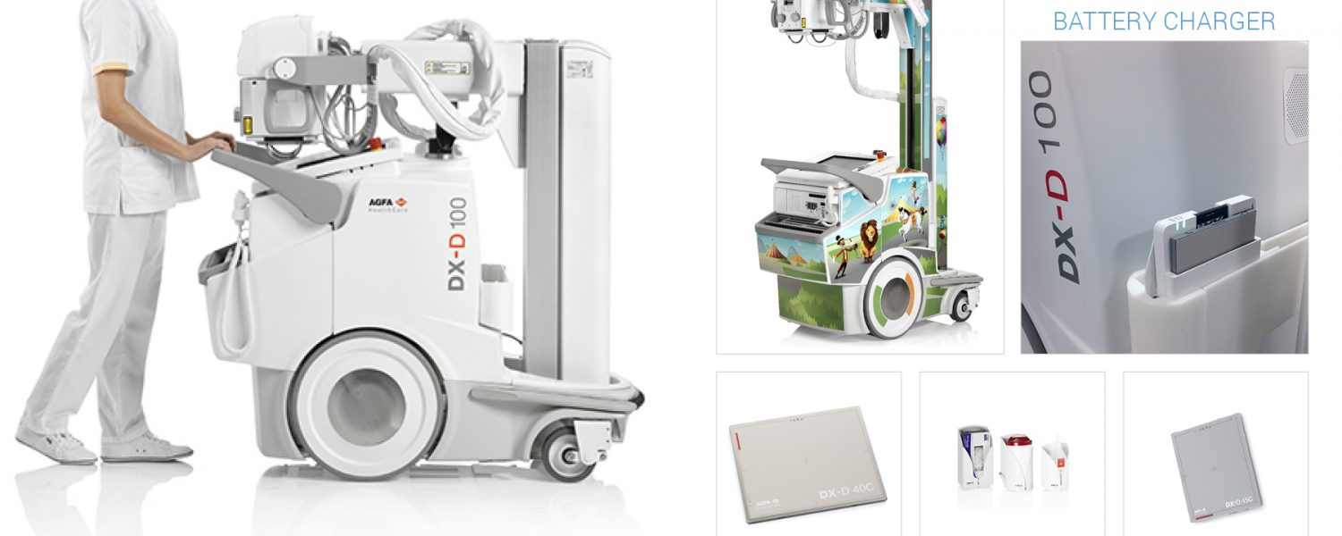AGFA HealthCare DX-D 100 Wireless Telescopic Mobile System